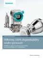Siemens Process SITRANS P ,Process Instrumentation,Siemens SITRANS P SITRANS P SITRANS P