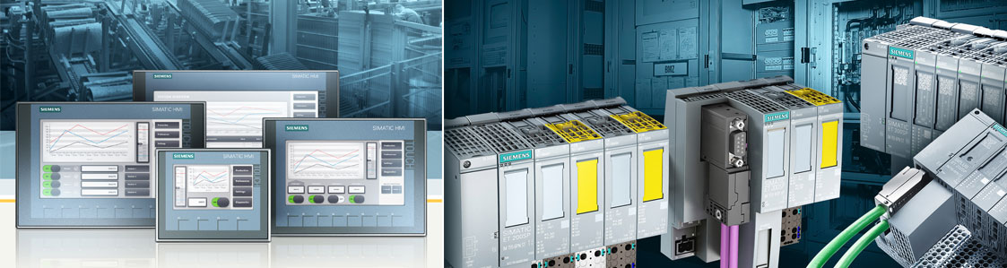 Siemens Industry Automation systems:  PLC's  HMI's we offer