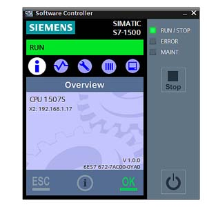 SIMATIC S7-1500 Software Controllers