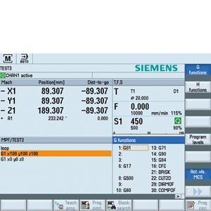 SINUMERIK Operate operating software